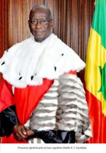 Cheikh A. T. Coulibaly PP CS Sénégal